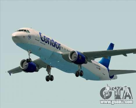 Airbus A320-200 Condor for GTA San Andreas engine