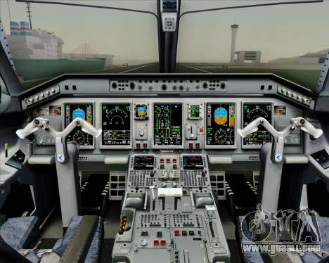Embraer E-190-200LR House Livery for GTA San Andreas interior