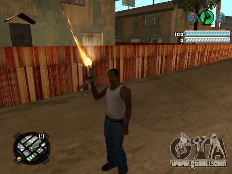 Respect C-HUD for GTA San Andreas second screenshot