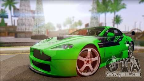 Aston Martin Vantage N400 for GTA San Andreas