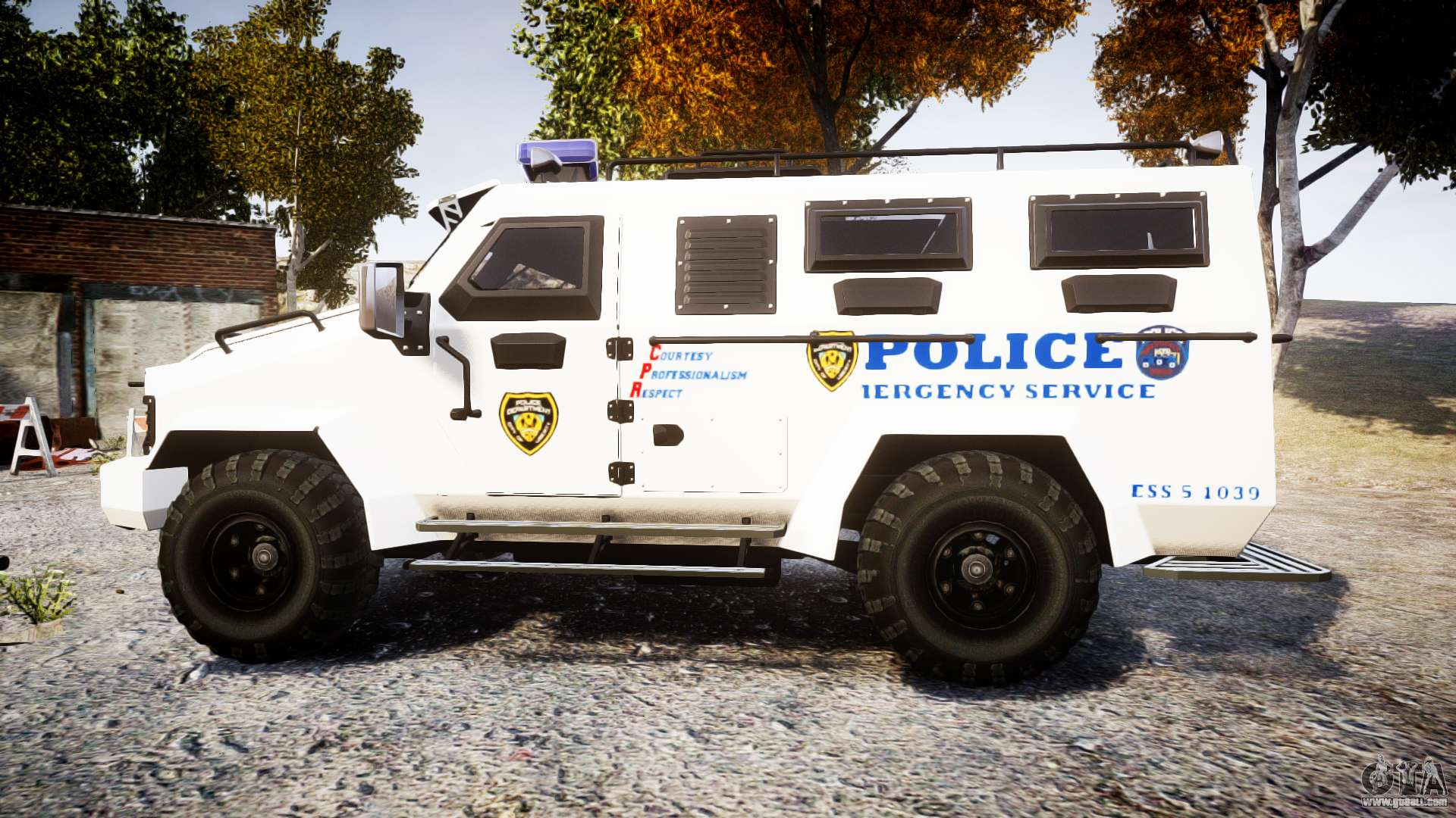 Swat Police Car Games