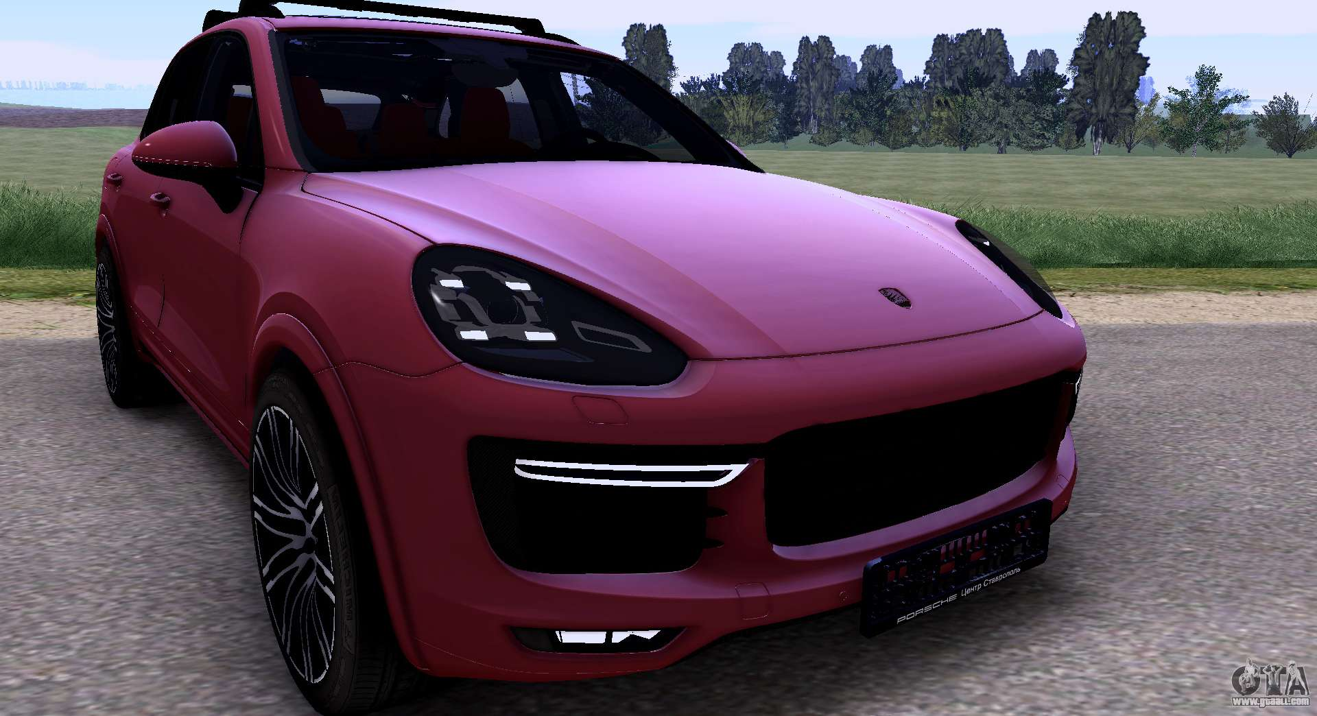 porsche cayenne turbo s gts 2015 for gta san andreas. Black Bedroom Furniture Sets. Home Design Ideas