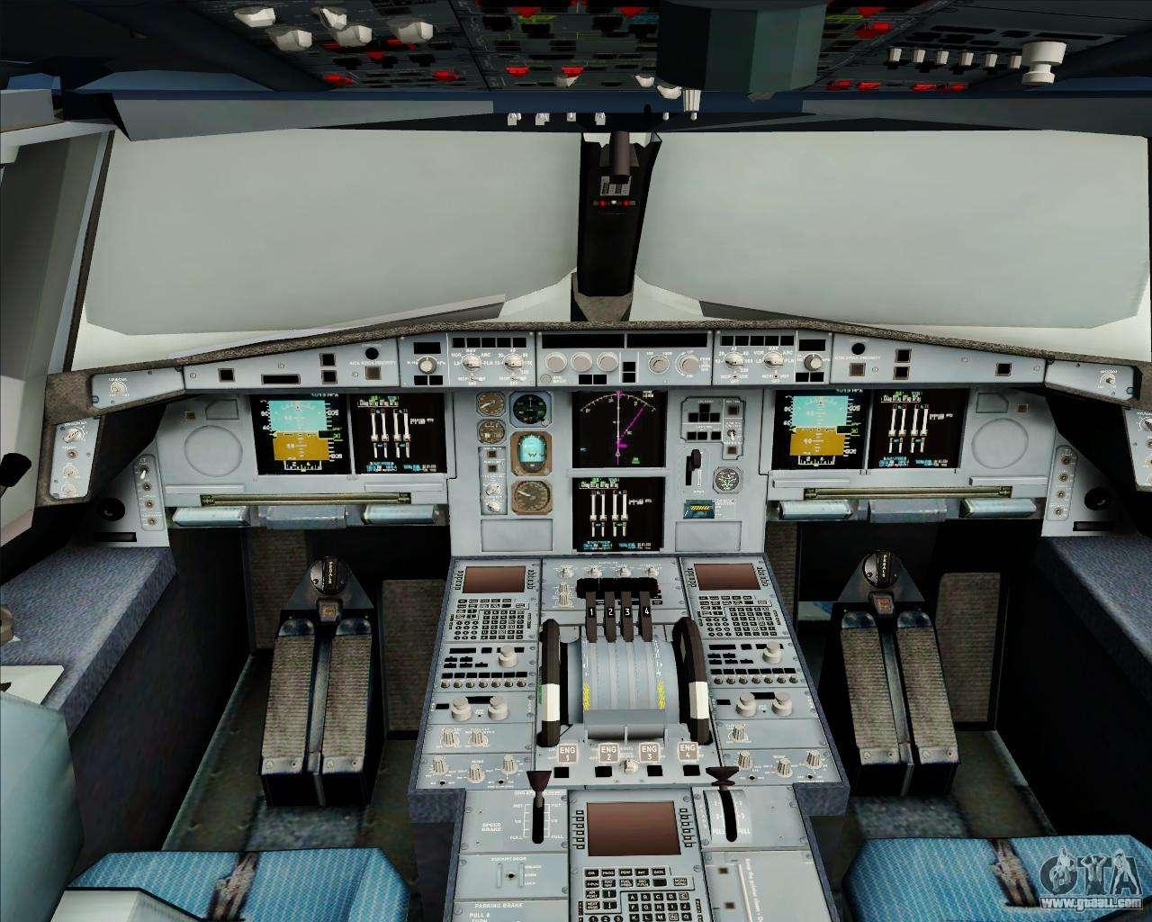 Airbus a380 800 air france for gta san andreas for Airbus a380 interior