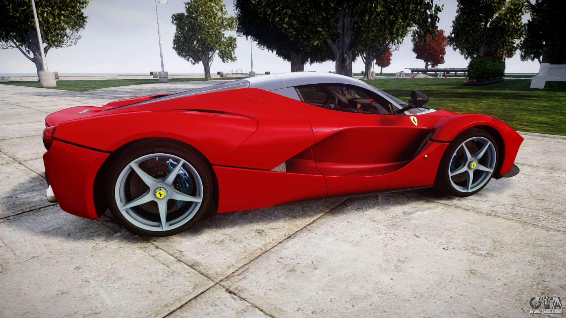 ferrari laferrari for gta 4. Black Bedroom Furniture Sets. Home Design Ideas