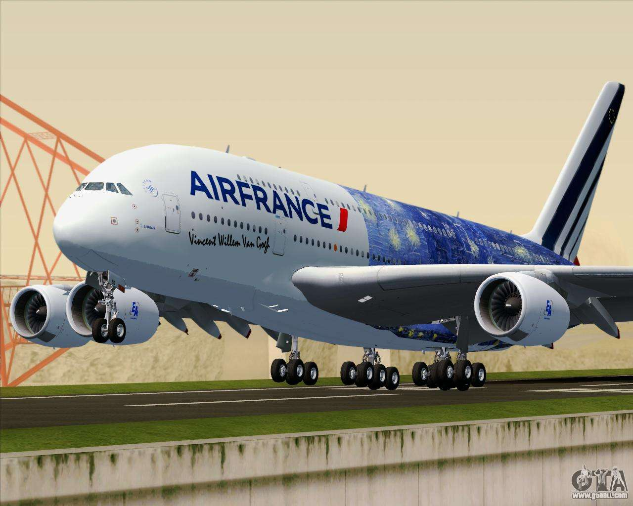 Airbus a380 800 air france for gta san andreas for A380 air france interieur