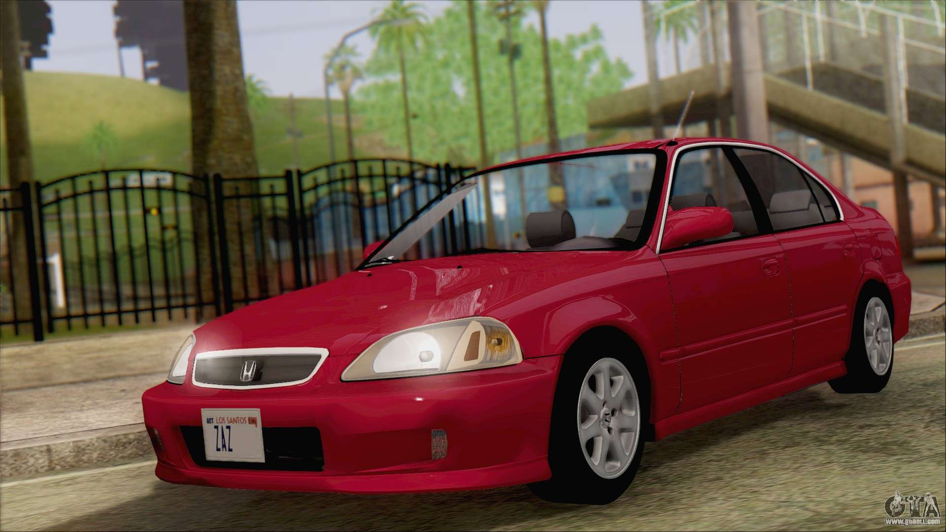 Honda Civic 2000 For GTA San Andreas