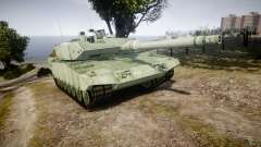 Leopard 2A7 CA Green for GTA 4