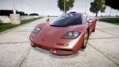 Mclaren F1 1993 [EPM] for GTA 4