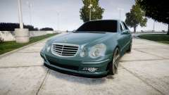 Mercedes-Benz W211 E55 AMG Vossen VVS CV5