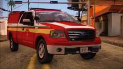 Ford F150 Fire Department Utility 2005 for GTA San Andreas