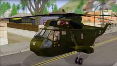 Helicopter Nuri Malaysia Mod (Seaking) for GTA San Andreas