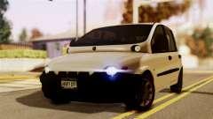 Fiat Multipla Black Bumpers