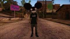 Deadmau5 Skin for GTA San Andreas