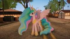 Celestia from My Little Pony for GTA San Andreas