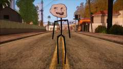 Skin de Meme Troll Bebe for GTA San Andreas