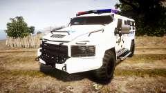 SWAT Van Police Emergency Service
