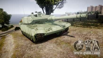 Leopard 2A7 CA Green for GTA 4