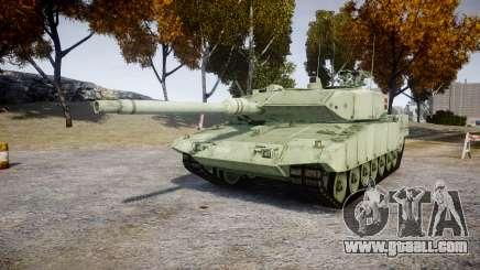 Leopard 2A7 DK Green for GTA 4