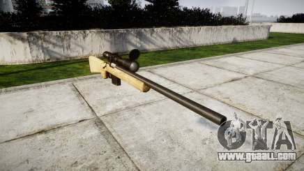 Sniper rifle with HQ textures for GTA 4