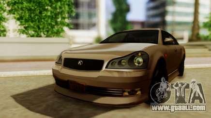 GTA 5 Intruder Tuning Bumpers for GTA San Andreas