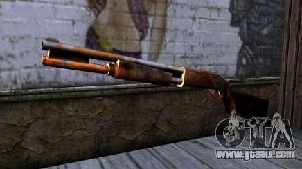 Chromegun v2 Rusty for GTA San Andreas