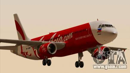 Airbus A320-200 Air Asia Philippines for GTA San Andreas