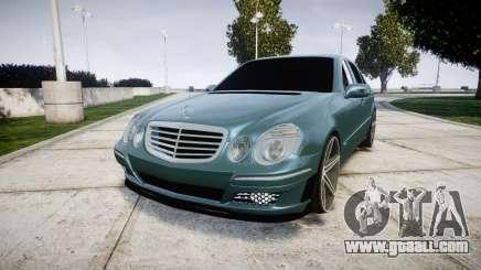 Mercedes-Benz W211 E55 AMG Vossen VVS CV5 for GTA 4