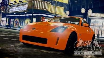 Nissan 350Z for GTA 4