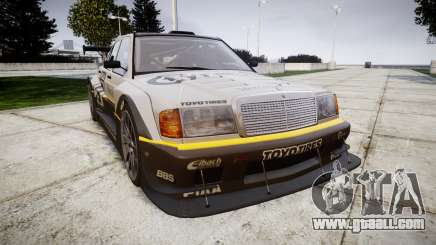 Mercedes-Benz 190E Evo II GT3 PJ 4 for GTA 4