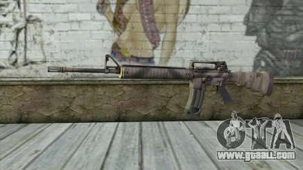M16A4 from Battlefield 3 for GTA San Andreas