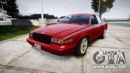Vapid Stanier Rims Minivan for GTA 4