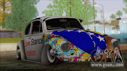 Volkswagen Beetle Bosnia Stance Nation for GTA San Andreas