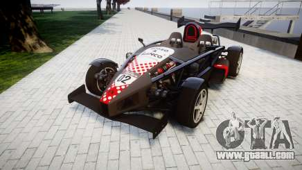 Ariel Atom V8 2010 [RIV] v1.1 Rosso & Bianco for GTA 4