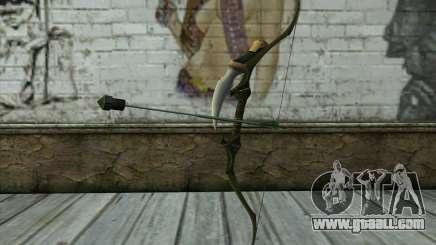 Green Arrow Bow v2 for GTA San Andreas
