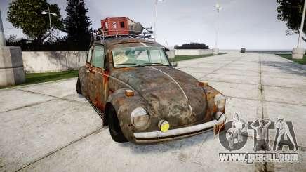 Volkswagen Beetle rust for GTA 4