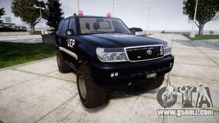 Toyota Land Cruiser 100 UEP [ELS] for GTA 4