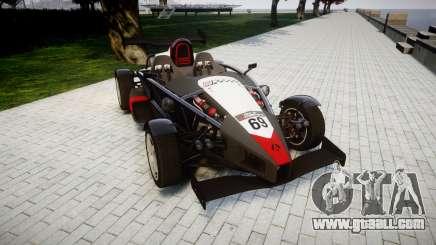 Ariel Atom V8 2010 [RIV] v1.1 Garton Racing Team for GTA 4
