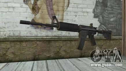 M4 from Sniper Warrior-Ghost for GTA San Andreas