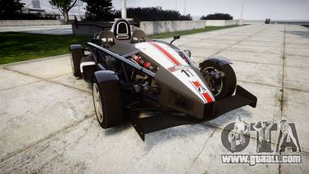 Ariel Atom V8 2010 [RIV] v1.1 FUEA Equipped for GTA 4