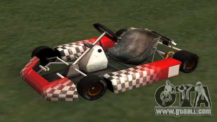 Updated Kart for GTA San Andreas for GTA San Andreas