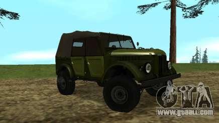 GAZ-69 for GTA San Andreas
