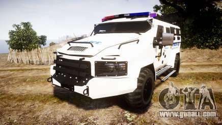 SWAT Van Police Emergency Service for GTA 4