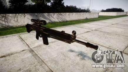 Rifle G3SG1 for GTA 4