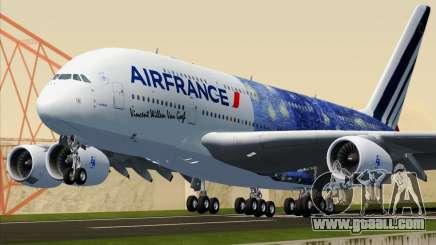 Airbus A380-800 Air France for GTA San Andreas