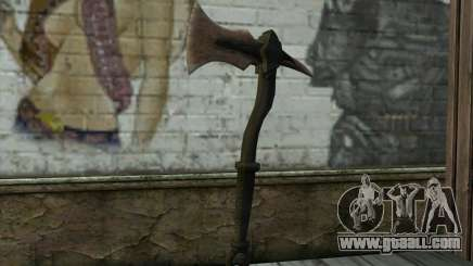 Dragonbone WarAxe From Skyrim Dawnguard DLC for GTA San Andreas