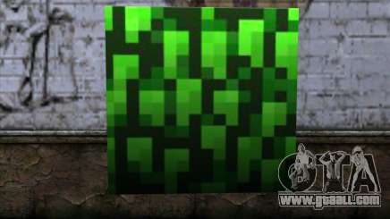 Block (Minecraft) v12 for GTA San Andreas