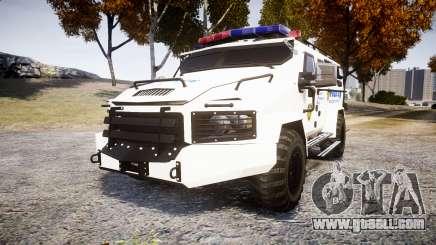 SWAT Van Police Emergency Service [ELS] for GTA 4