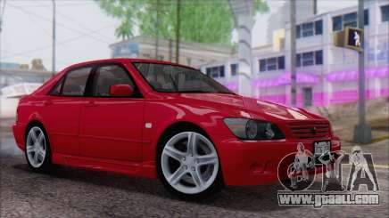 Toyota Altezza (RS200) 2004 (IVF) for GTA San Andreas
