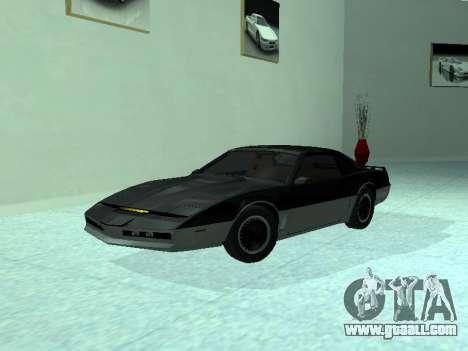 Pontiac Trans-Am K. A. R. R. for GTA San Andreas