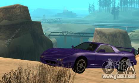 Beta ZR-350 for GTA San Andreas engine